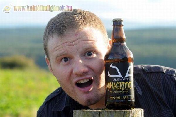 Újabb sörrekord - 65 fokos sört főztek Skóciában