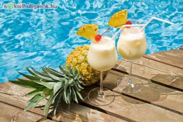 A Pina Colada a nyár egyik kedvenc itala