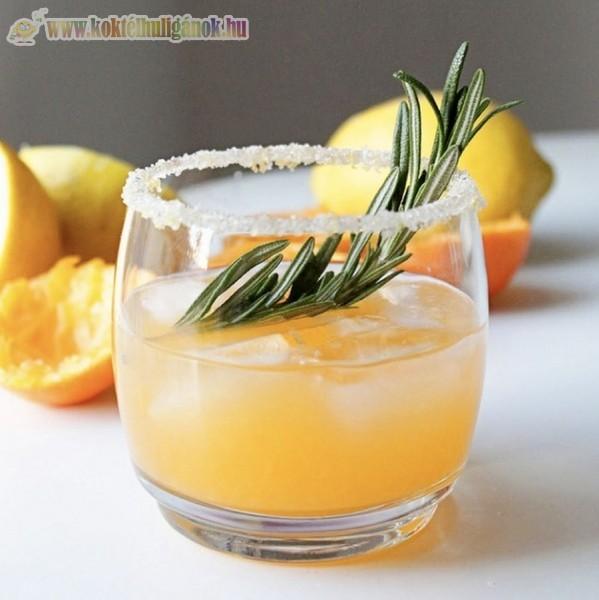 Téliesített narancskoktél