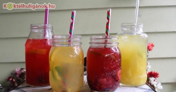 Házi gyümölcslevek