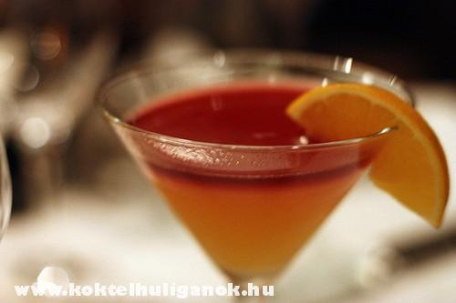 Bellini Martini koktél