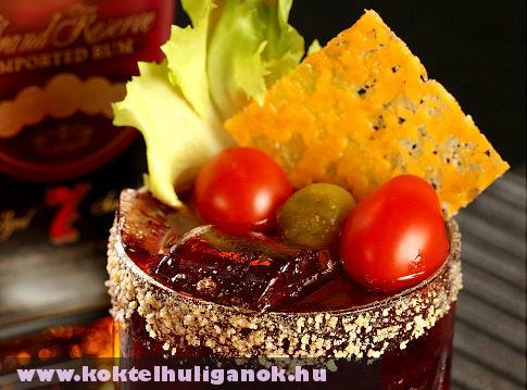 Sajtburger Koktél