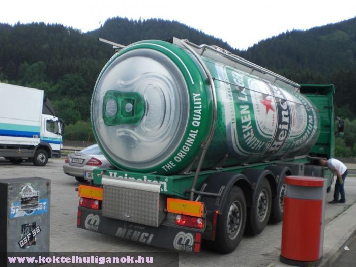 Egy dobozos Heineken lesz