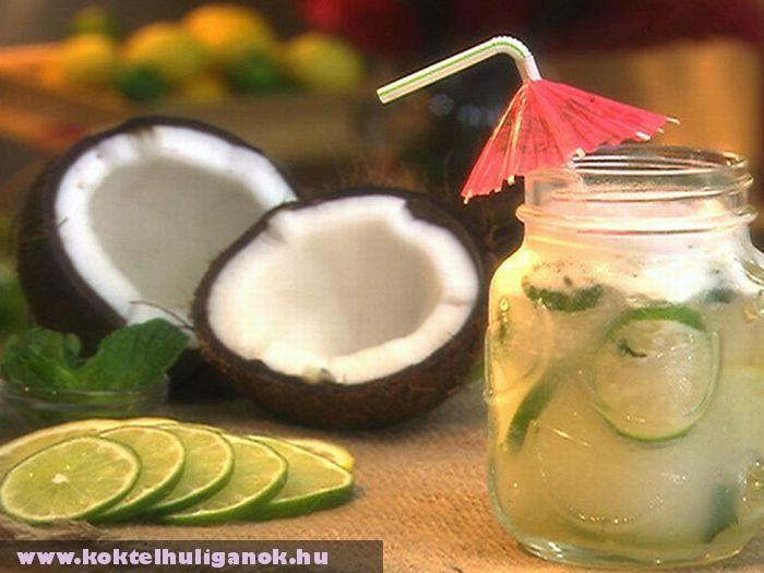 Bolondos kókuszos limonádé