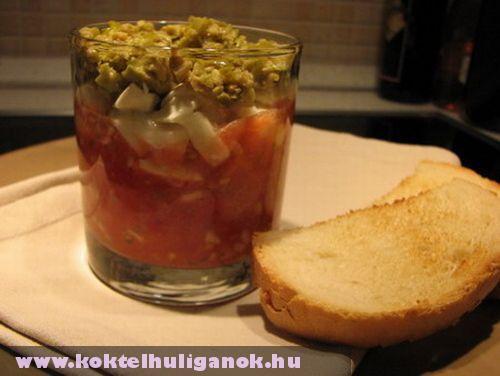 Mozzarella koktél