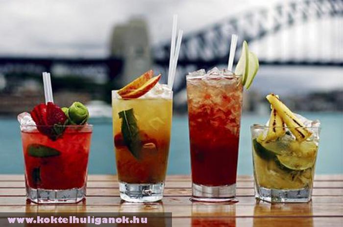 Koktélkülönlegességek - alkoholos koktél