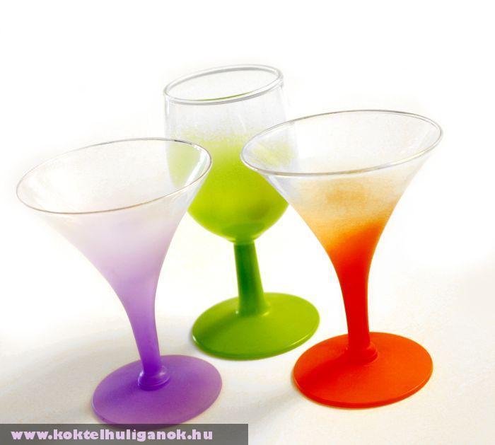 Színes poharak