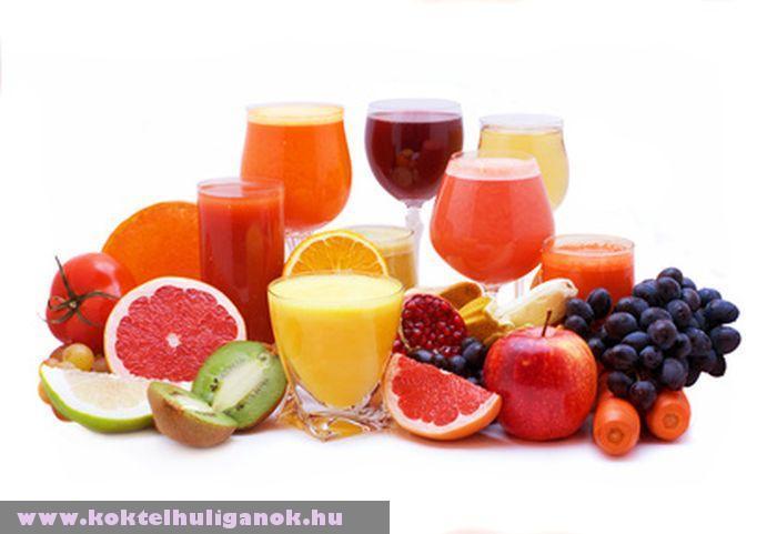 Gyümölcsök és koktélok