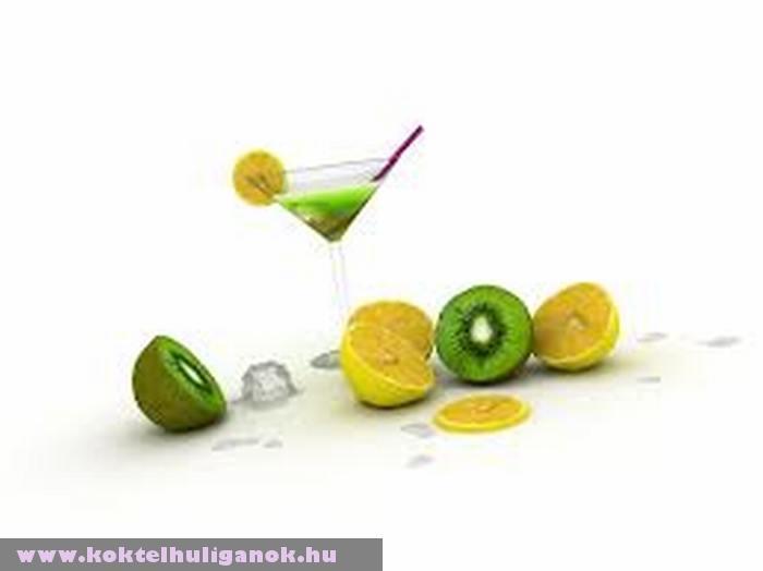 Lime-os kiwi-s koktél