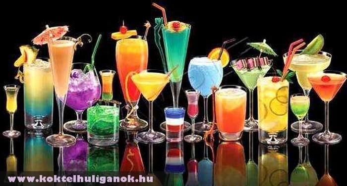 Színes italok