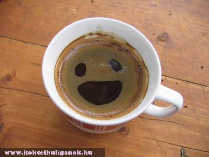 Mosolygó kávé