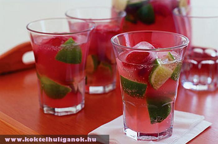 Pink Gin koktél
