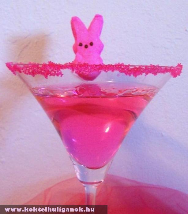 Húsvéti pink koktél