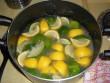 limonádé citrom és lime