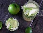 Green Apple Bowle koktél